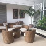 Hotel con Arte y esculturas tipo de los Tayronas