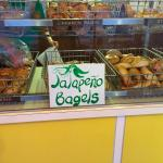 Old school bagels, old school atmosphere, with the occasional unconventional flavor