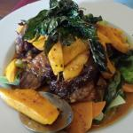 Mango Curry with duck