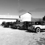 The Depot antique mall, having visit from an antique car show