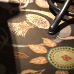 Wheat sheaf carpets