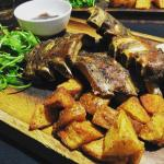 Argentinian ribs with potatoes