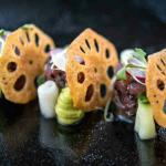 Amazing dishes,private dining room for the special occasions and the main area with a stunning v
