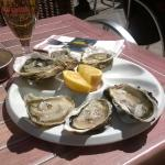 Oysters at Sete