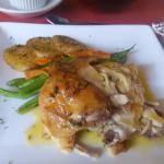 Caffe DaVinci's Roast Chicken