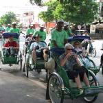 Cyclo is the only Cambodian transportation within city of phnom penh  that can bring you around