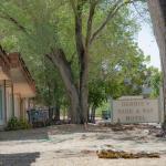 the front entrance into Debbie's Hide A Way Motel