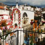 Day of the dead in Taxco cemetery