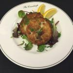 Cod and pancetta fish cakes