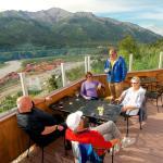 Alpenglow Restaurant outdoor dining!