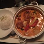 Seafood Gumbo Dish. Very spicy and very tasty!