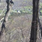 Ridge Trail provides wonderful views of the valley when the trees are bare