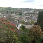 View from our room over Lostwithiel.