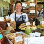 The amazing Elly at the Bakery! Say hi next time you're in!