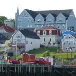 View of Lunenburg from the water