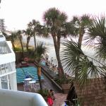 Waters Edge Resort in Garden City Beach, SC  is amazing. The views are breath taking and the dec