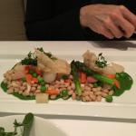 White bean cassoulet (vegetarian option)