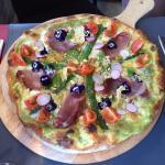 Deux pizze proposées à la carte et qui ont permis au pizzaiolo de terminer en bonne place dans p