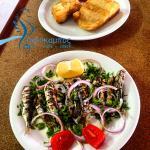 seafood - sardines