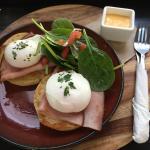 Eggs Benedict best breakfast ever