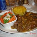 Rabbit stew - vey tasty.