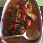 Monk fish curry