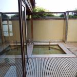 1階の露天風呂