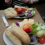 Great ploughman's. Get a table in the conservatory 5star food
