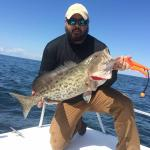 Grouper on Bite Back Fishing Charter