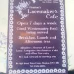 Lacemakers Cafe Honiton