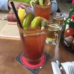 Awesome bloody mary!!!