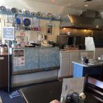 Inside the Blue Plate Diner
