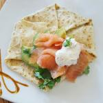 Salmon special crepe