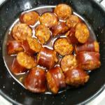 El pulpo a la parrilla exquisito,chorizos a la sidra, ensalada mixta y costillas y pollo a la pa