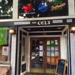 The outside of the Harp and Celt with one picture of inside the Celt.