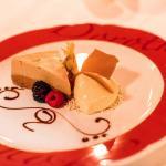 Dessert aus dem Degustationsmenü