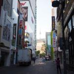 Seoul pacific hotel - view from Myeongdong shopping alley