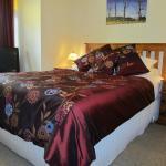 Queen Bed Seahorse Room