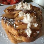 Absolutely delish! So fresh and balanced! French toast to die for...crab & eggs yummy! Whole gra