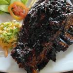 BBQ Ribs very tender ribs with smokey flavour