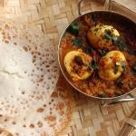 Kerala Appam n Egg a fine breakfast