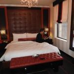 Bed in Kingsize Deluxe room