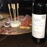 Apero pour 4 = 20 € vin de la propriété Génial !!!!