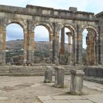 anciennes ruines volubilis à meknes
