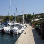 Lunch stop in Meganissi