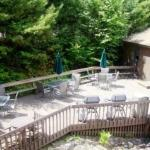 Deck seating area, BBQ grills, Game Room