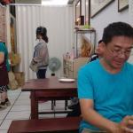 Owner at porridge restaurant (in Jincheng) for free breakfast
