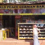 German Bakery Arambol Beach Goa.