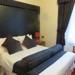 Our room -- cozy and Scottish!
