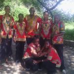 Kia lodge staff with smile